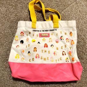 3/$40   benefit tote bag